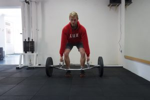 Trap deadlift