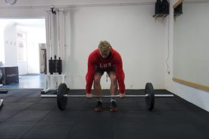 Deadlift before bracing
